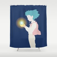 howl Shower Curtains featuring Howl by Polvo