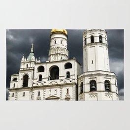 Dark clouds over Kremlin Rug