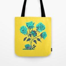 Snails N' Roses Tote Bag
