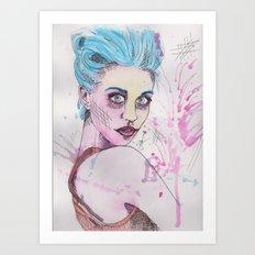 Raggedy Ally Art Print
