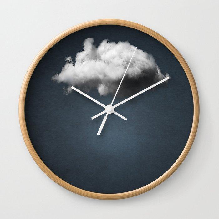 WAITING MAGRITTE Wall Clock
