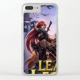 Legends Attack Clear iPhone Case