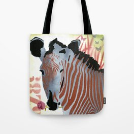 Funky Zebra Style No2 Tote Bag