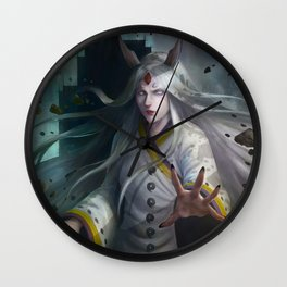 Kaguya, Rabbit Goddess Wall Clock