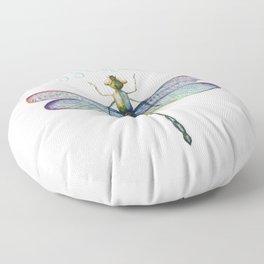 Sassenach Dragonfly Floor Pillow