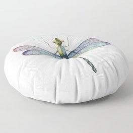 Sassenach Dragonfly Floor Pillow