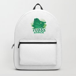 Floss Dance Move Frog Backpack