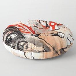 Okami Amaterasu Ink Floor Pillow