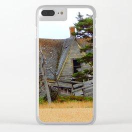 Broken Down Clear iPhone Case