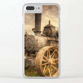Textured Fowler Clear iPhone Case