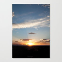 NM Sunset 5 Canvas Print