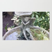 fairy Area & Throw Rugs featuring Fairy by Elizabeth Boyajian
