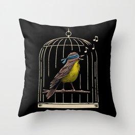Follow the Birds Throw Pillow
