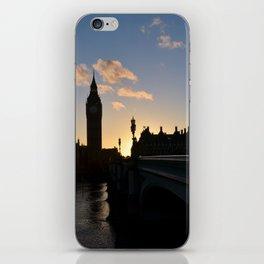 London Sunset Silhouette iPhone Skin