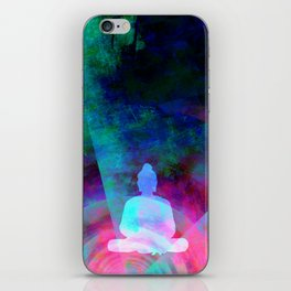 Meditation Time iPhone Skin