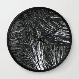 Meditations - Flow Wall Clock