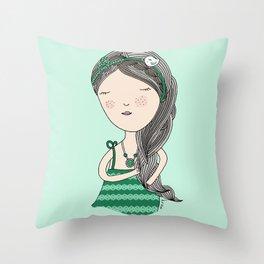 Menta Throw Pillow