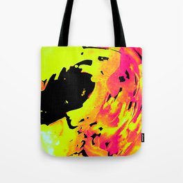 Solar Flare Wave Tote Bag