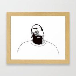 Bigs Framed Art Print