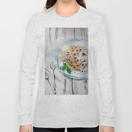 Belgian waffles Long Sleeve T-shirt
