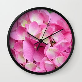 Buds of All Stages Wall Clock