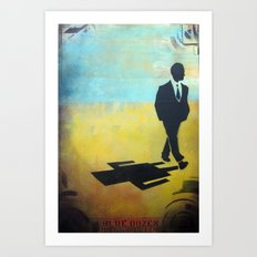 in rides the truth Art Print