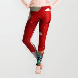Poppy Painting Leggings