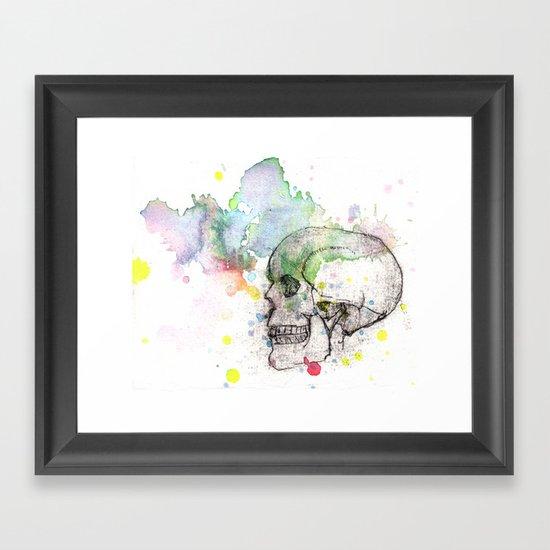 What's Underneath Framed Art Print