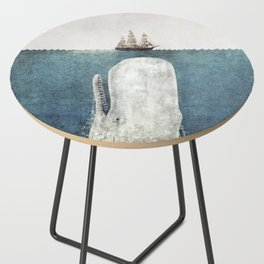 The Whale - vintage Side Table