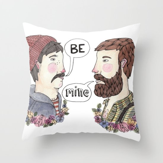 Mister Mister Throw Pillow