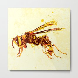 Hornet Metal Print