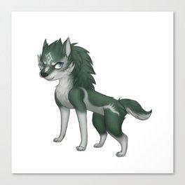 Link Wolf Pup - Twilight Princess Canvas Print
