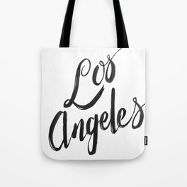 Los Angeles - Hand Type Tote Bag
