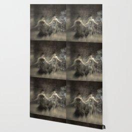 Dance in smoke Wallpaper
