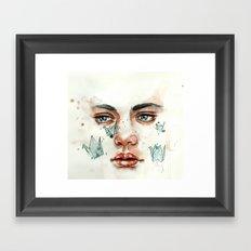 Cranes II Framed Art Print