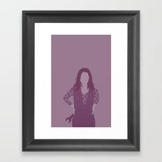 kaylee, firefly serenity Framed Art Print