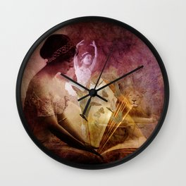 All of her days are written in His Book. Wall Clock