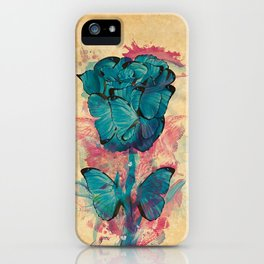 Butterfly Rose iPhone Case
