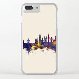 Lucerne Switzerland Luzern Skyline Clear iPhone Case