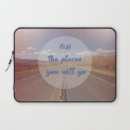 The Places You Will Go Laptop Sleeve
