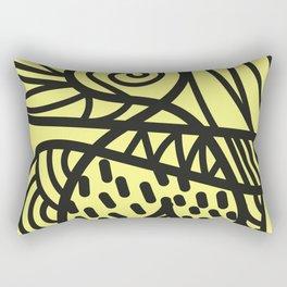 A Lot Of Lines Rectangular Pillow