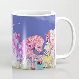 Paint the zebra Coffee Mug