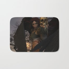 The Morrigan's Acorn Bath Mat