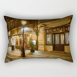 lonely lantern in Berlin Rectangular Pillow