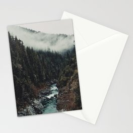 When the sky touch the wild Stationery Cards