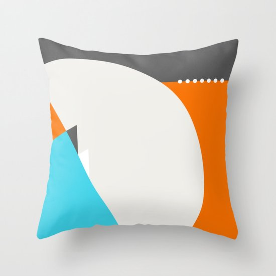 Spot Slice 04 Throw Pillow