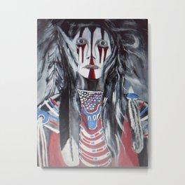 Soldier Native Metal Print