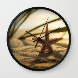 Starfish Still life on the beach Wall Clock