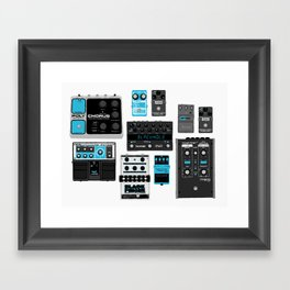 Pedals Framed Art Print