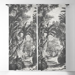 Indian Jungle Blackout Curtain